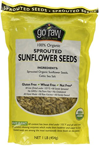 Go Raw, Organic Sprouted Sunflower Seeds, 1 lb (454 g)