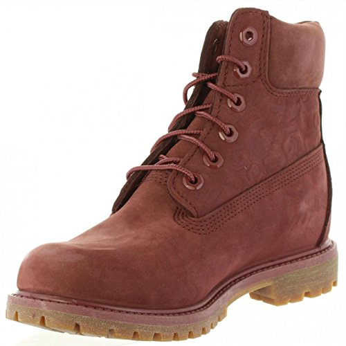 Boot Stivali Premium W Ca1k3o 6in Sable Bordeaux Timberland HREqwP7