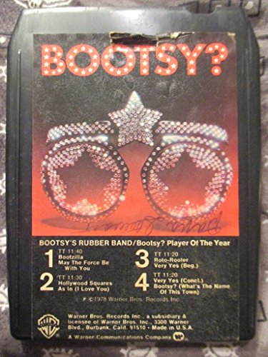 Bootsy? Player Of The Year Vintage Stereo 8-Track Tape ()