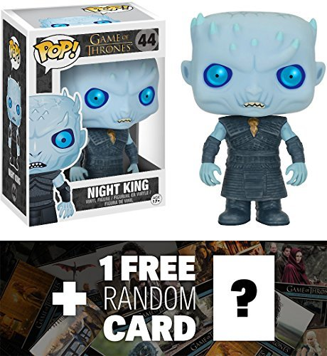 (Night King: Funko POP! x Game of Thrones Vinyl Figure + 1 FREE Official Game of Thrones Trading Card Bundle [50689])