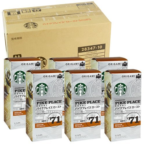 "(Caja de compra) Starbucks ""Starbucks (R)"" 6 cajas"