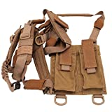 Troy Industries SSLI-PSH-00TT-00 Pdw Shoulder Harness Sling, Tan