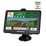 Aonerex GPS Navigation for Car, 7 inch Touch Screen+ 8GB&256MB Navigation System, Built-in Multi-Media and FM Car Navigation with Lifetime Free Map Updates