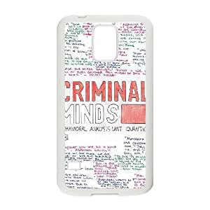 Samsung Galaxy S5 Phone Case White Criminal Minds ZJC746017