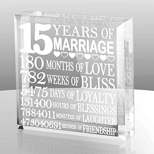 Kate Posh - Fifteen (15) years of Marriage - Our 15th Anniversary Keepsake & Paperweight by Kate Posh (Image #3)