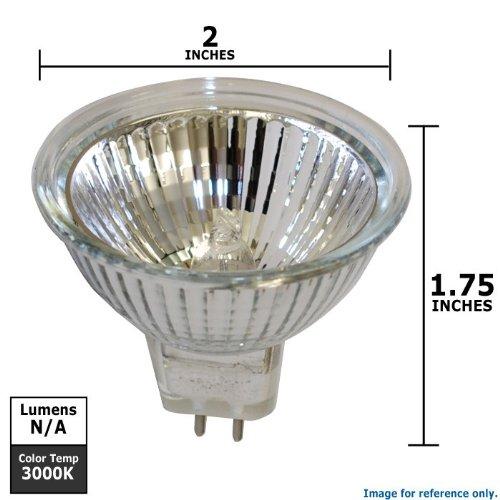 Tru Aim Brilliant Halogen Lamp - SYLVANIA 20w 12V MR16 FL35 Light Bulb