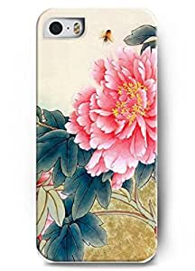 Popular Designed Stylish Series Case for iPhone 5 5S 5G with the Design of Flourish Peony BY ATICASE
