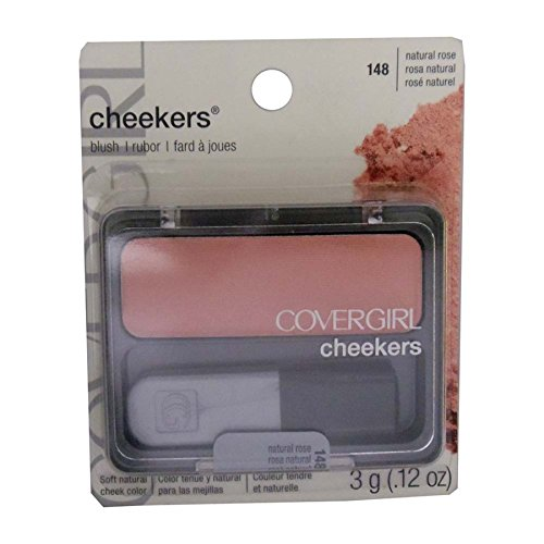 COVERGIRL Cheekers Blendable Powder Blush Natural Twinkle, .12 (Natural Powder Blush)