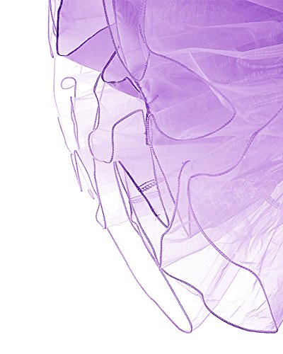 tulle longueur vintage 50 Petticoat Dresstells 26 annes Lavande Rockabilly 66cm Jupon en XqwnXf1AB