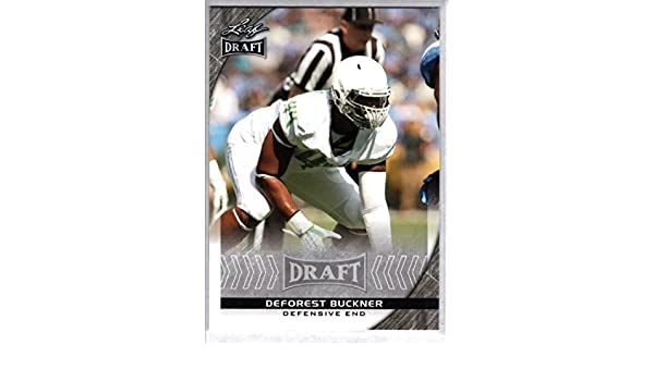 c4e58d77c Amazon.com  Football NFL 2016 Leaf Draft  25 DeForest Buckner NM-MT   Collectibles   Fine Art