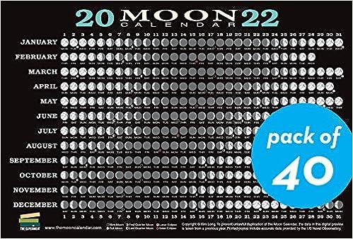 Moon Calendar September 2022.