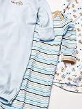 Luvable Friends Unisex Baby Cotton Gowns, Blue, 0-6