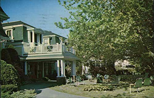 (The Melrose Inn Harwich Port, Massachusetts Original Vintage)