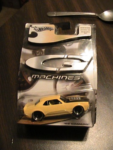Hot Wheels G Machines 68 Camaro in Yellow collectable car Hot Wheels G Machines