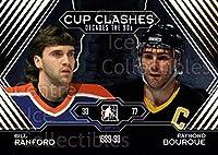 (CI) Bill Ranford, Raymond Bourque Hockey Card 2013-14 ITG Decades 1990s Gold 191 Bill Ranford, Raymond Bourque