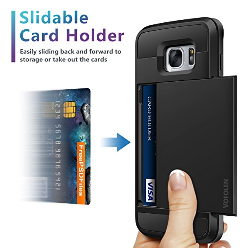 samsung s7 phone case with card