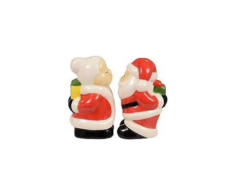 Creative Art Mrs. Claus & Santa - Salero y pimentero, diseño ...
