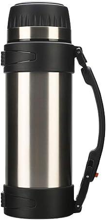 Ancups Maceta De Aislamiento, Cafetera Taza De Termo Termo De Acero Inoxidable (Color : Silver): Amazon.es: Hogar
