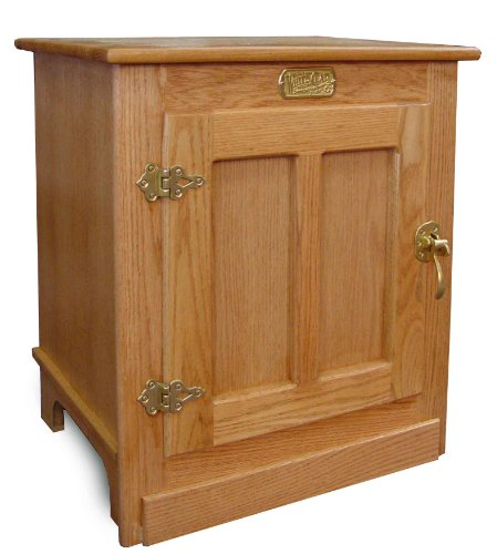 refrigerator end table. amazon.com : oak ice box end table -light night stand everything else refrigerator n