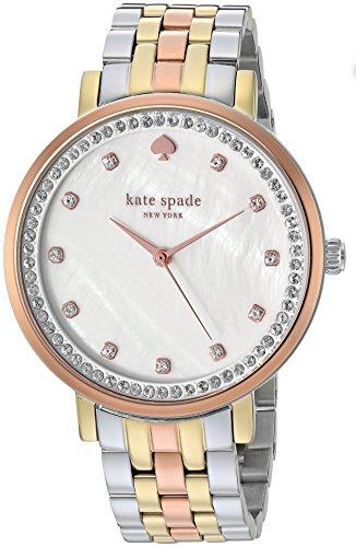 kate spade new york Tri-Tone Stainless Steel Monterey Watch