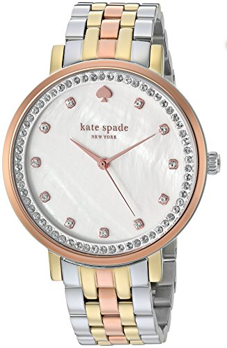 - kate spade new york Women's Monterey Quartz Watch with Stainless-Steel Strap, Multi, 16 (Model: KSW1143)