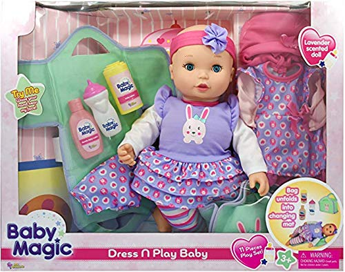 Baby Magic Doll Dress N Play
