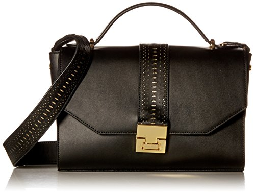 Ivanka Trump Hopewell Crossbody Messenger, Black/Laser