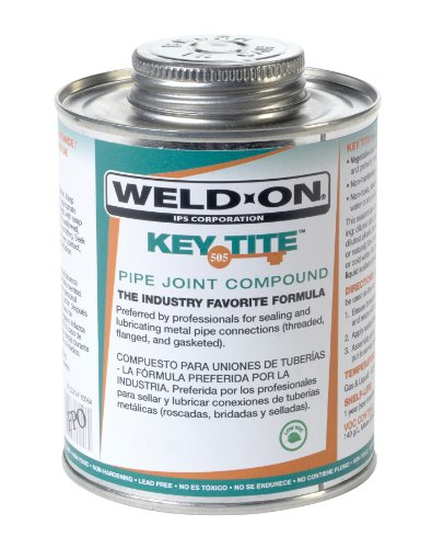 weld-on-10063-green-tite-505-key-metal-pipe-threas-sealant-with-triple-tight-paint-can-1-quart-can