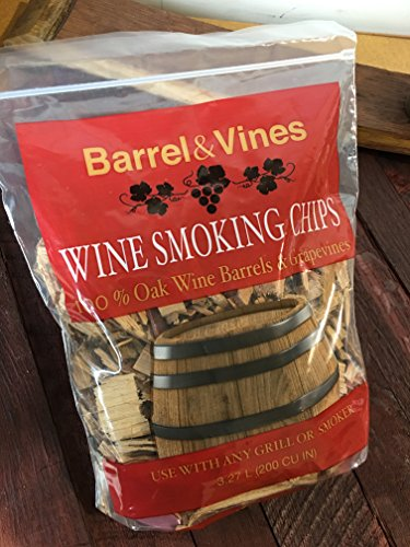 Wine Smoking Chips from California Vineyards