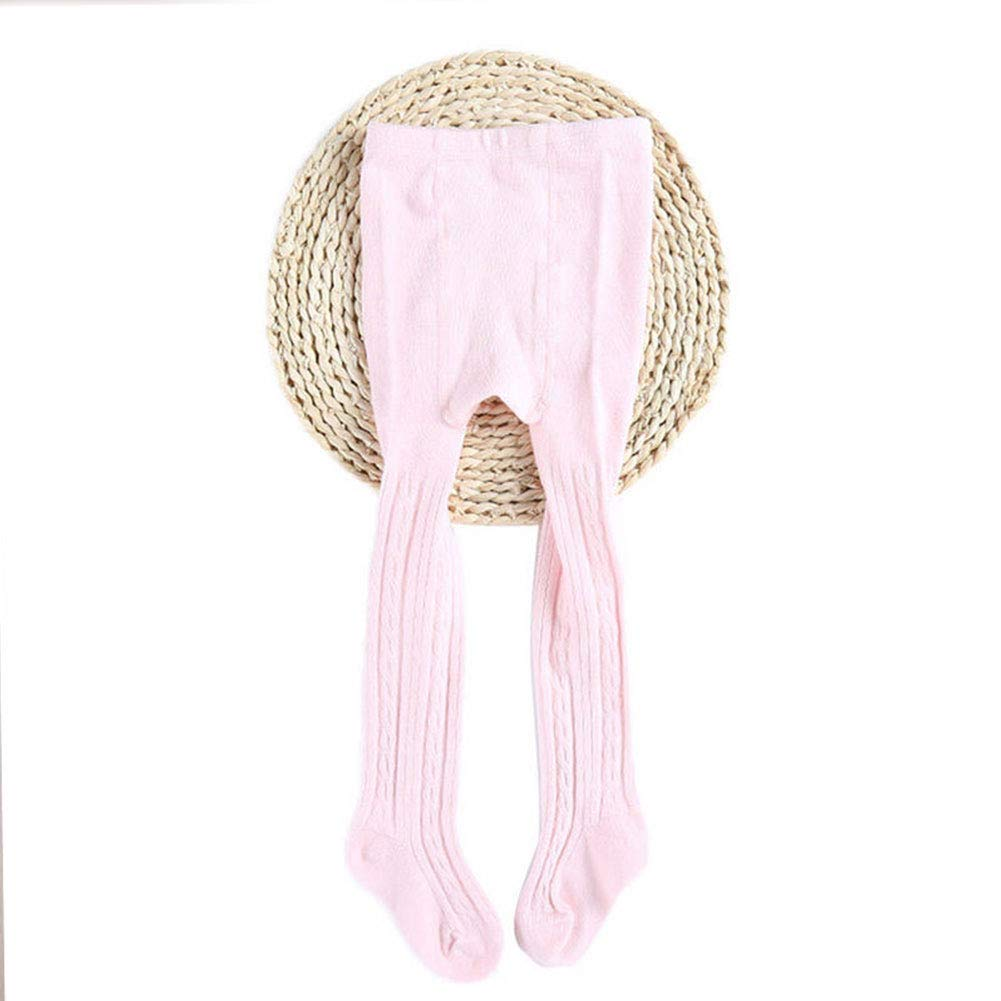 Momangel Baby Girl Solid Color Cotton Soft Tights Footed Legging Pants Pantyhose Ballet Dance Sockings for Autumn Winter Spring