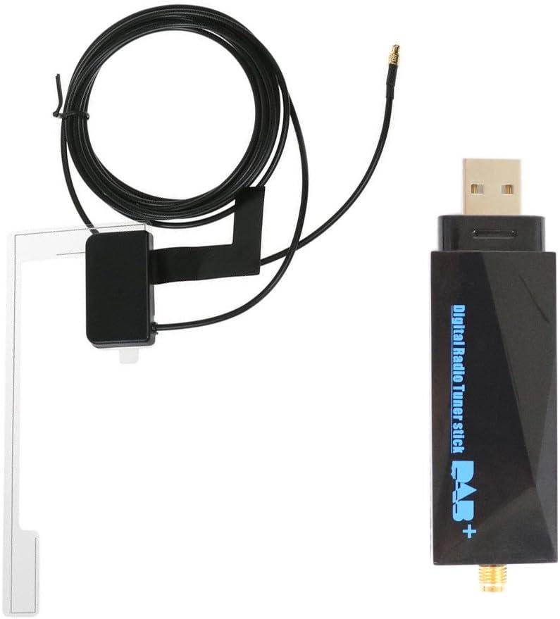 Digitale Compatto Adattatore DAB Portatile per Autoradio e Sistema Home Audio Hi-azul Ricevitore Radio DAB//DAB