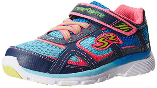 Stride Rite Racer Light-up Supersonic Athletic Shoe (Toddler/Little Kid),Navy/Blue,10.5 M US Little Kid