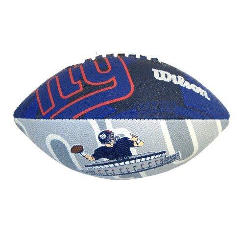 Wilson F1534XB NFL Giants - Balón junior de fútbol americano WTF1534IDNG