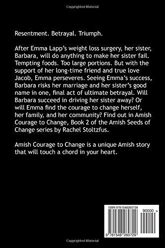 Amish Courage To Change Amish Seeds Of Change Volume 2 Rachel