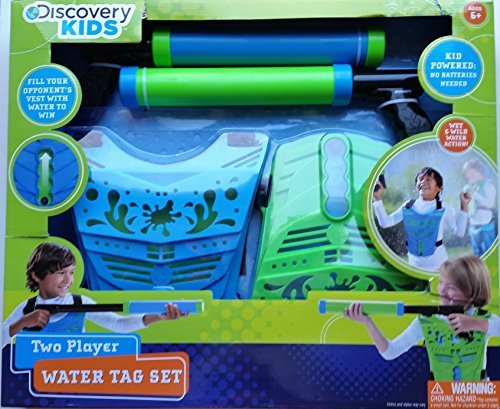 (Discovery Kids Two Player Water Tag Set)