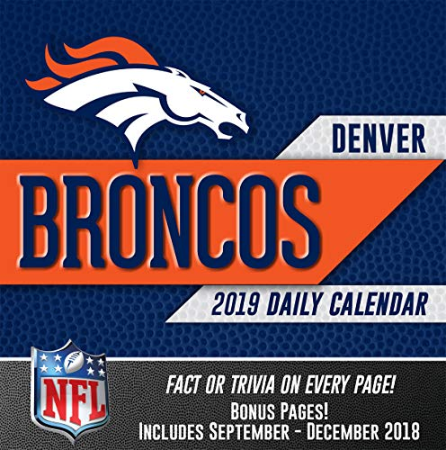 (Turner Licensing Denver Broncos 2019 Box Calendar (19998051437))