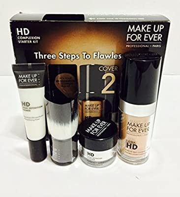 MAKE UP FOR EVER HD Complexion Starter Kit 127 Dark Sand 1 kit