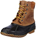 Sorel Men's Cheyanne Lace Full Grain Rain Boot,Chipmunk/Black,11 M US