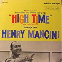 HIGH TIME ORIGINAL MOTION PICTURE SOUNDTRACK LP [Vinyl] Henry Mancini