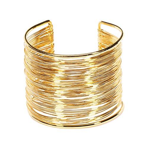 Yueton Memory Jewelry Hammered Bracelet