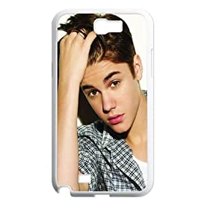 Samsung Galaxy N2 7100 Cell Phone Case White Justin-Bieber Phone Case Cover Durable Protective XPDSUNTR22556
