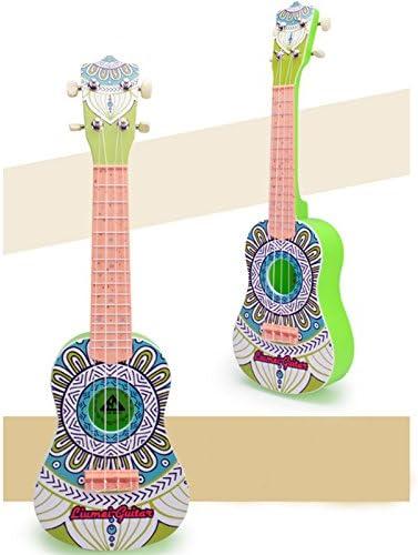 LIOOBO 23 zoll folk akustische gitarre musik instrument mini gitarre spielzeug f/ür anf/änger kinder musik liebhaber rot