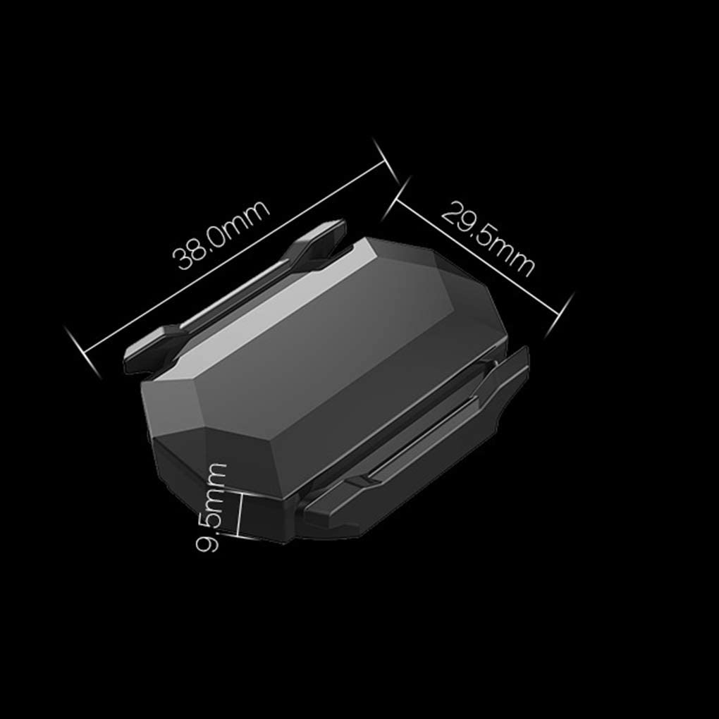 Arichtopara el reemplazo del Sensor Bluetooth Strava Garmin Sensor de Velocidad Bryton veloc/ímetro de la Bici de Doble Uso del Sensor Ordenador de Bicicleta