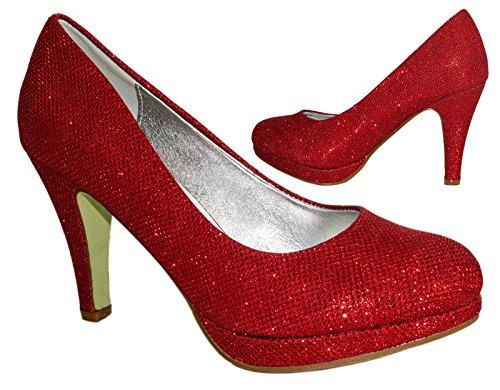 Elara Rojo Mujer Elara Plataforma Plataforma 46Rd4