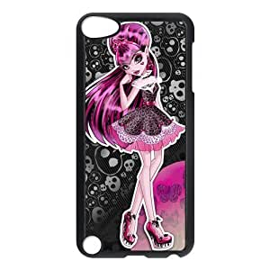 Customize Cartoon Game Monster High Back Case for ipod Touch 5 JNIPOD5-1273