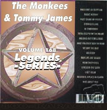 Tommy James & the Monkees Karaoke CD+G Legends #168 17 Song Disc CD