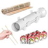 REDLEMON Sushi Bazooka: Molde para Hacer Sushi Perfecto. Máquina para Hacer Rollos Fácilmente