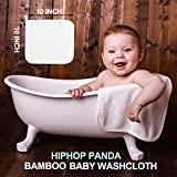 Bamboo Baby Washcloths - 2 Layer Soft Absorbent