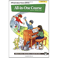 Alfred's Basic Piano Library All-in-One Course, Book 2 book cover