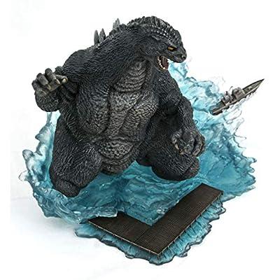 DIAMOND SELECT TOYS Godzilla Gallery: Godzilla 1991 Deluxe PVC Figure: Toys & Games